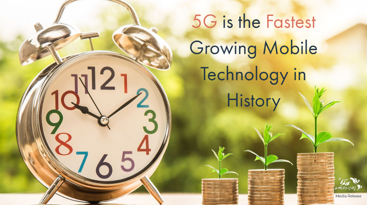 5G is the Fastest Growing Mobile Technology in History